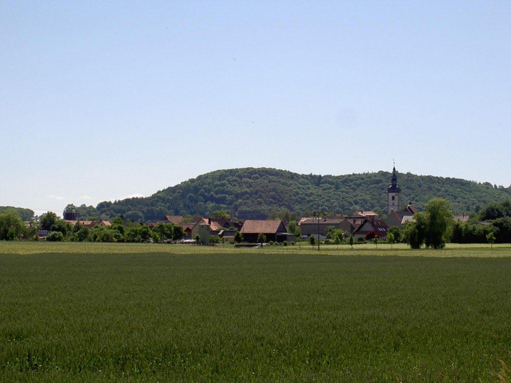 Blick auf Markt Nordheim